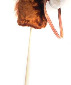 Present till de som har bra fantasi, Käpphäst 95 cm ljusbrun