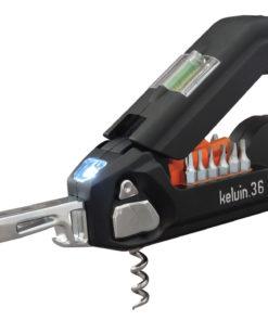Presenter till de som är händiga, Kelvin.36 Multiverktyg Svart