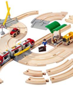 Present till barn som tycker om att bygga, BRIO Rail & Road 33209 Reseset