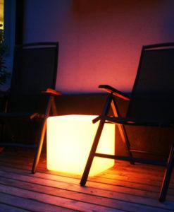 Presenttips som lyser, LED-Pall