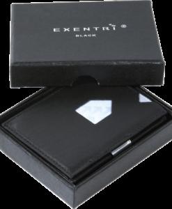Presenttips plånbok läder, Exentri Plånbok Svart