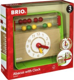 Presenter bebis och barn, Abacus with Clock