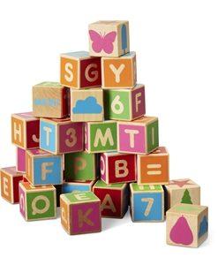 ett presenttips till barn, Alfabetsklossar 36 St