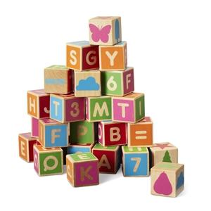 Alfabetsklossar 36 St