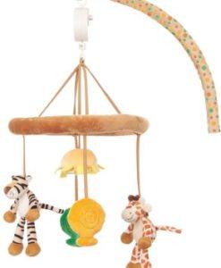 Present bebis sova, Diinglisar Wild Mobil Giraff & Tiger