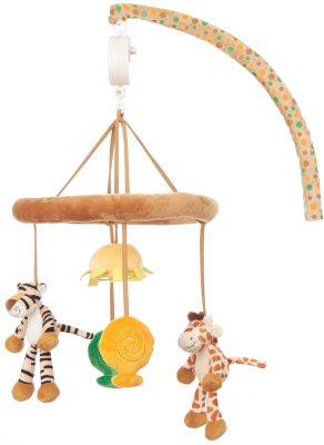 Diinglisar Wild Mobil Giraff & Tiger