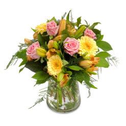 Presenttips till de som gillar blommor, Glädje
