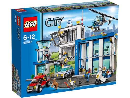 En lego present, LEGO City 60047 Polisstation
