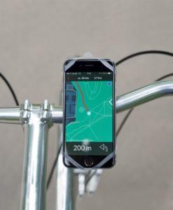 Presenttips cyklister, Telefonhållare till styret