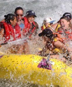 Presenter som ger adrenalin, Avancerad Rafting