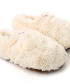 Ett mysigt presenttips, Cozy Slippers Creme 36-40