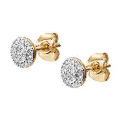 Diamantörhängen