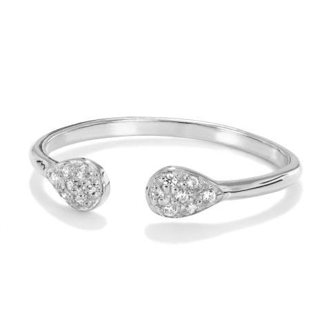 Vacker ring i äkta silver