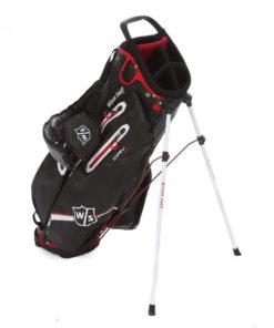 En golfbag present