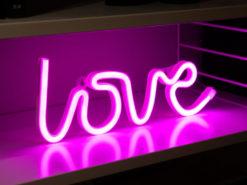 LED-lampa Love