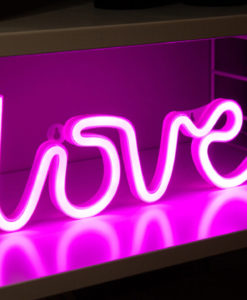 LED-lampa Love