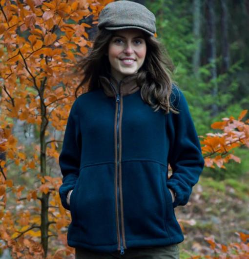 fleece waistcoat