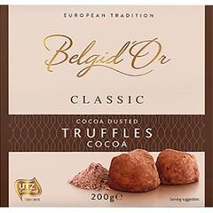 klassik tryffel choklad
