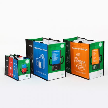 återvinningskassar