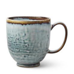 Blå kopp present